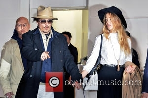Johnny Depp Hosts Wedding Party On Private Island