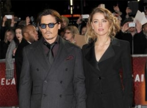 Johnny Depp and Amber Heard wed again