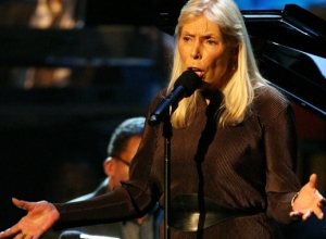 Joni Mitchell in Intensive Care after Being Hospitalized in Los Angeles