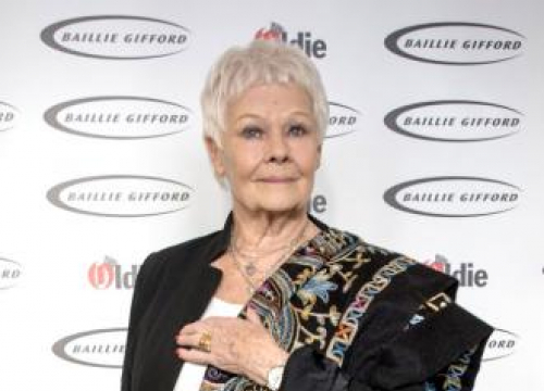 Judi Dench Receiving Richard Harris Award