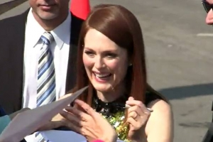 Julianne Moore Beams In Santa Monica Outside The Independent Spirit Awards - Part 3