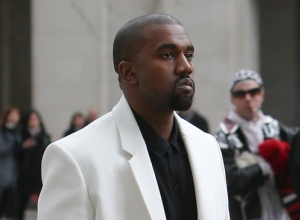 Kanye West Performs At The Time 100 Gala After Amy Schumer Falls At His Feet