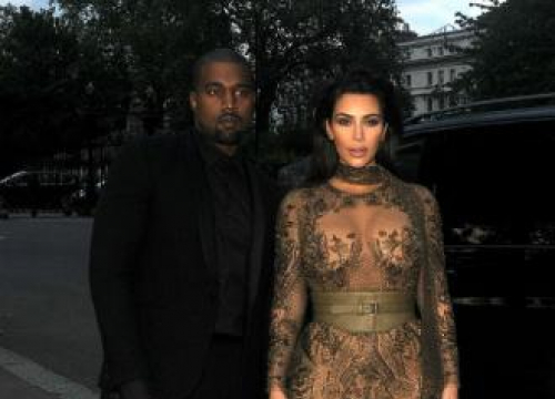 Kanye West And Kim Kardashian West Looking Ahead To 2017