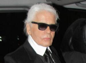 Karl Lagerfeld hates selfies