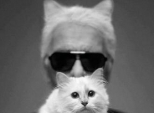 Karl Lagerfeld and Choupette star in new campaign