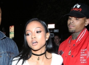 Chris Brown & Ex Karrueche Tran Argue After Night Out In Hollywood