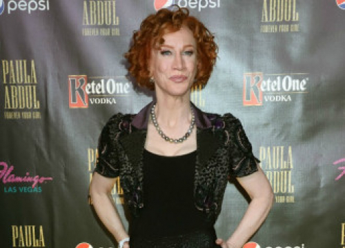 Kathy Griffin Hits Back At Trolls Over Curly Hair
