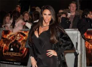 Katie Price 'shocked' by Kim Kardashian's naked photos