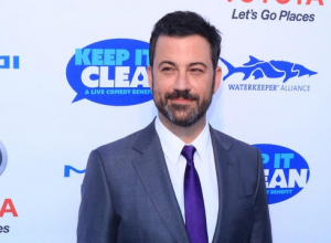 Jimmy Kimmel and Pedro Pescal