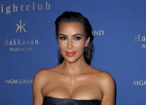 Kim Kardashian Visits Secretive Kanye West Exhibition
