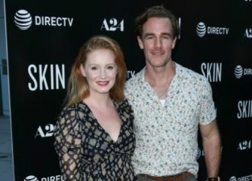 James Van Der Beek Leaving Los Angeles