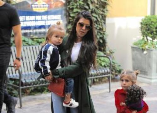 Kourtney Kardashian Retreated 'into Shell' After Split