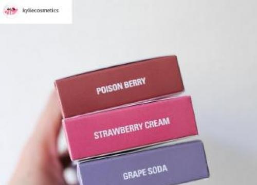 Kylie Jenner Launches 'Three Brand New Velvet' Lip Kits