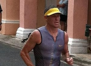 Lance Armstrong Cited For Car Collision