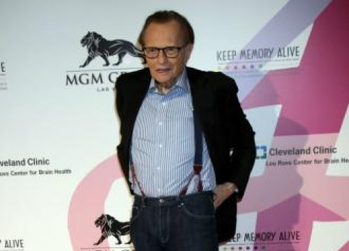 Larry King's Sons Support Both Parents