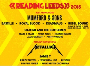 Reading & Leeds Festival 2015 Line-Up Add Further Names To Line-up