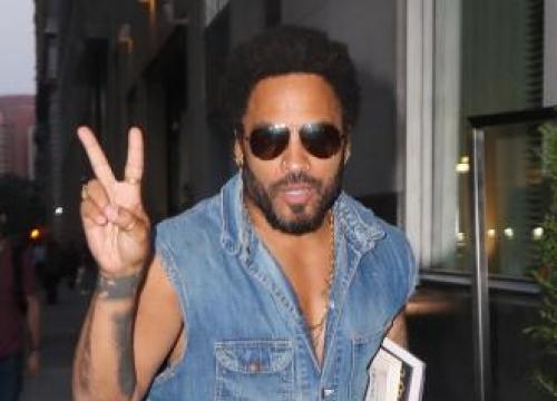 Lenny Kravitz Accidentally Flashes Audience