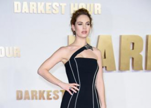 Lily James: Working With Gary Oldman Was Depressing