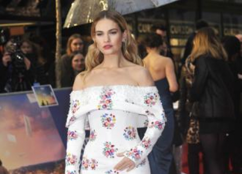 Lily James Had Too Much Fun To Focus