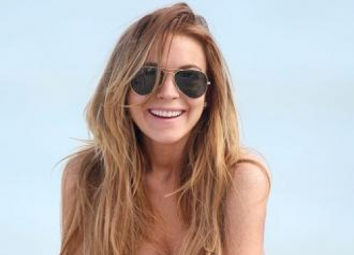 Lindsay Lohan Text Dad Pregnancy News