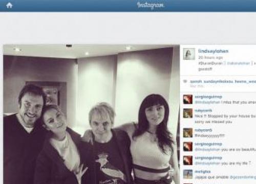 Lindsay Lohan confirmed for Duran Duran LP