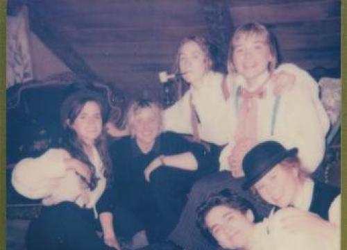 Emma Watson Shares Polaroid Of Little Women Cast
