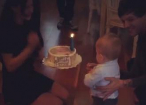 Louis Tomlinson And Briana Jungwirth Celebrate Son's First Birthday