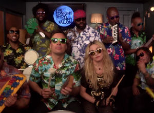 Madonna Joins Jimmy Fallon And The Roots For A Classroom Rendition Of 'Holiday' [Video]