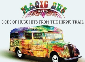 Various Artists - Magic Bus: 3CDs Of Huge Hits From The Hippie Trail Album Review