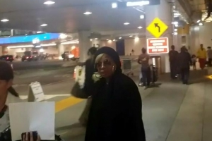 Mary J. Blige Snubs Grammy Performance Question At LAX Airport