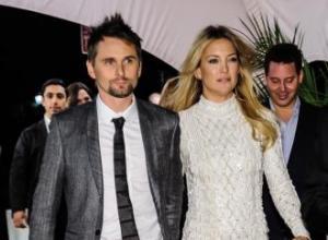 Matt Bellamy misses Kate Hudson