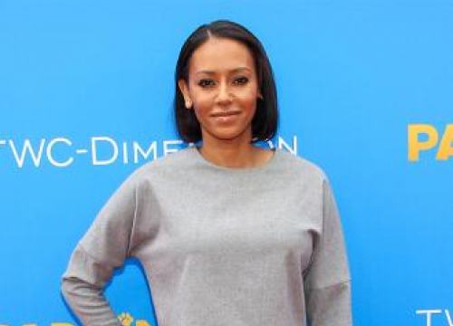 Mel B Attends Father's Funeral