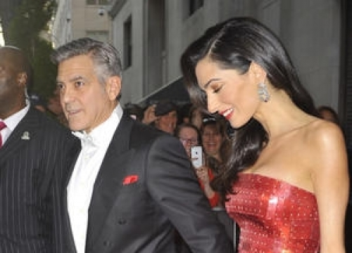 Julia Roberts Hits It Off With George Clooney's New Wife