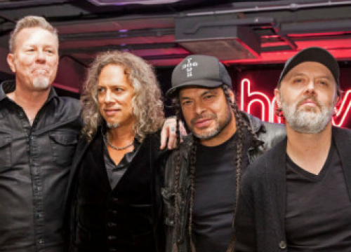 Metallica Have Done Some 'Pretty Serious Writing' Amid The Pandemic