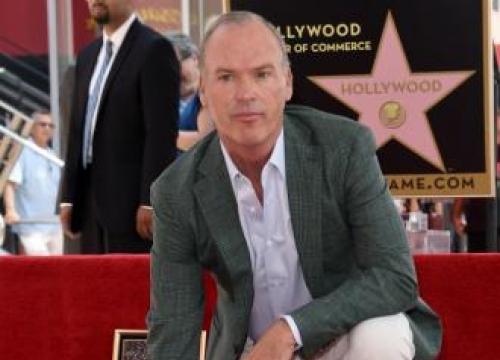 Michael Keaton Gets Walk Of Fame Star