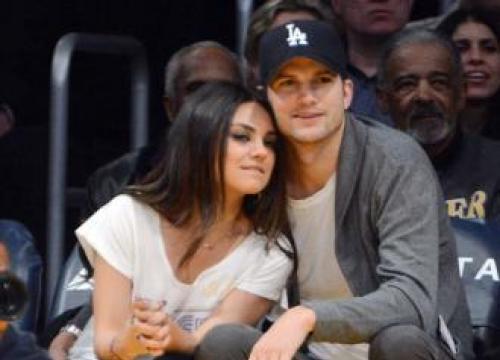 Ashton Kutcher Did Mila Kunis' Chemistry Homework
