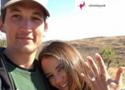 Miles Teller Engaged