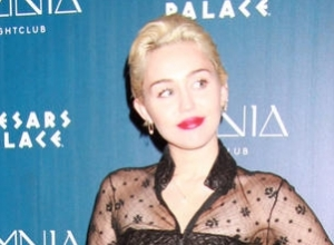 Miley Cyrus Auctions Off Caitlyn Jenner Inspired Artwork For Charity