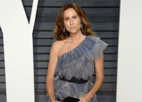 Minnie Driver Went Grey At 21