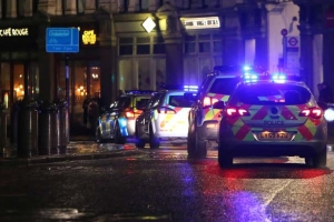'Mission: Impossible - Rogue Nation' Shoot Police Car Chase In London
