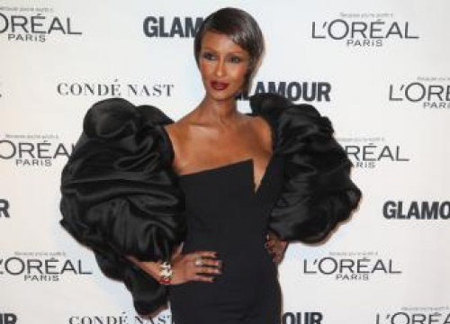 Iman Helped By Outpouring Of Grief After David Bowie's Death
