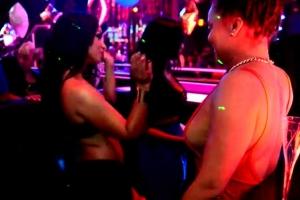 Mya Showers Dancer In Cash At G5ive Lounge's Diva Fridays - Part 2