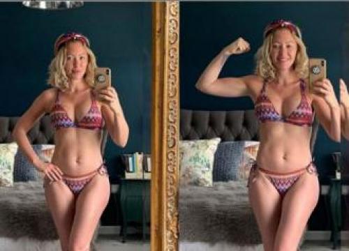 Natasha Hamilton Shares Fitness Secrets