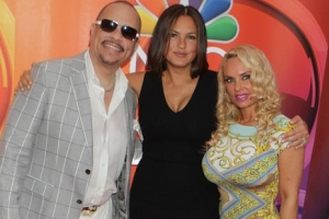 Ice-T Brings Along Wife Coco To 2015 NBC Upfront Presentation - Part 2