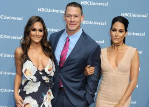 Brie Bella Praises Twin Nikki's Strength After Split From John Cena