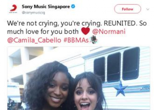 Camila Cabello And Normani Kordei Reunite At Billboard Music Awards