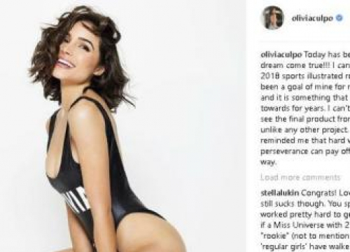 Olivia Culpo Fulfils Dream By Posing For Sports Illustrated