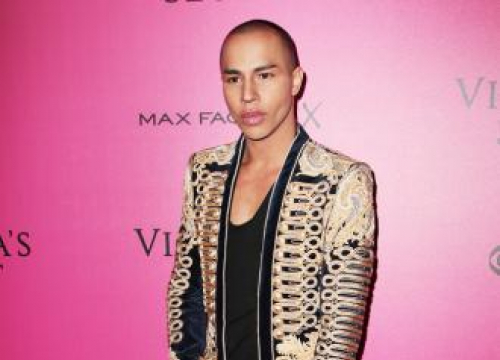 Olivier Rousteing Photographs His First Ever Fashion Campaign