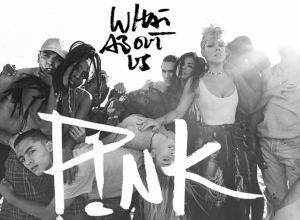 P!nk - What About Us [Lyric] Video