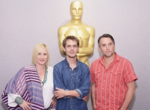 "About Time - Patricia Arquette Wins Supporting Actress Oscar for ""Boyhood"""